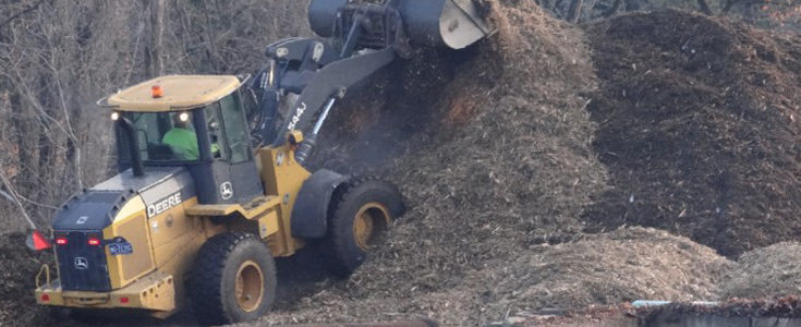 Single Ground Wood Mulch (recycled from the UMT Yard Waste Facility)