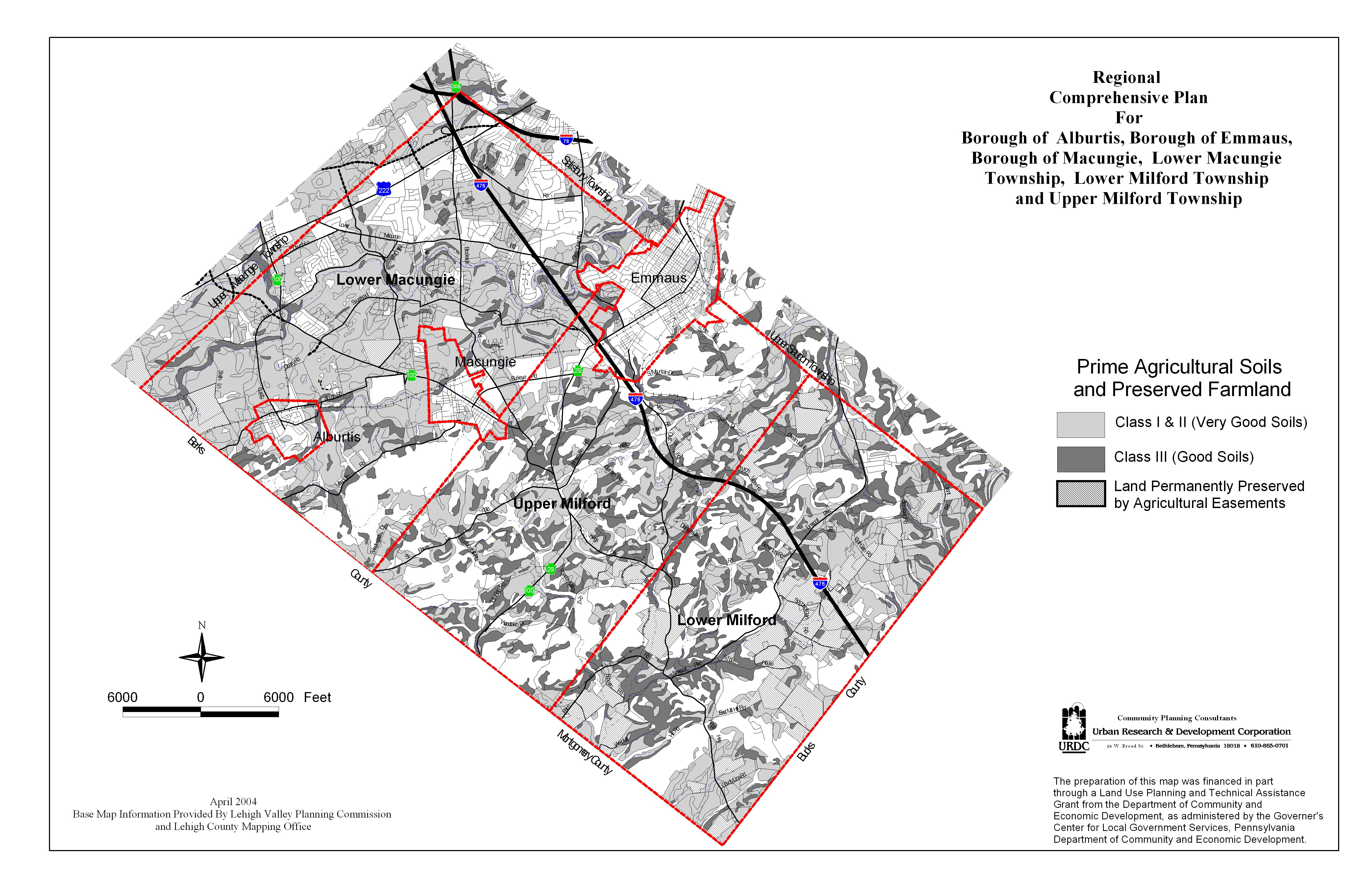 Upper Milford Township Southwestern Lehigh Comprehensive